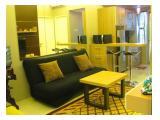Living Room & kitchen of 2BR Unit