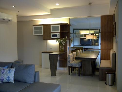 Sewa apartemen 1park one park residence gandaria 2 1 for Apartment design jakarta