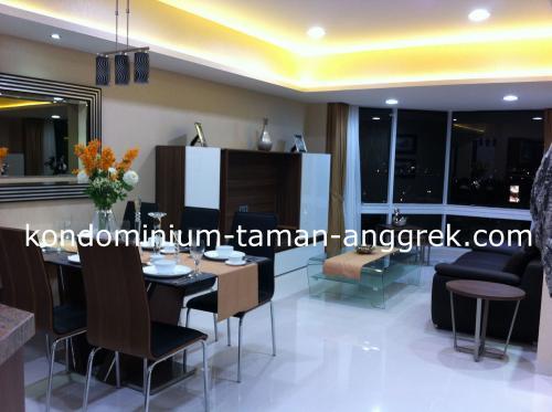Taman anggrek condominium interior design jakarta for Apartment design jakarta