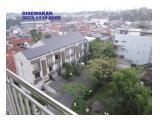 Disewakan Apartemen Galeri Ciumbuleuit 1 Bandung - Studio Type Furnished