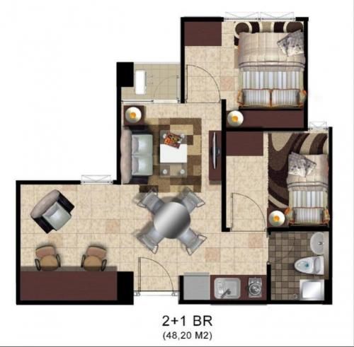 Layout gandaria city mall jakarta apartments for rent sale - Terras appartement lay outs ...