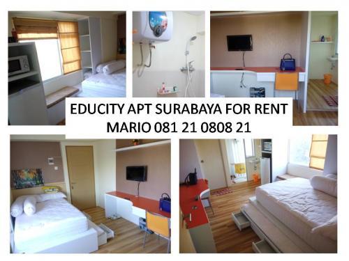 Sewa Apartemen Educity Pakuwon Surabaya