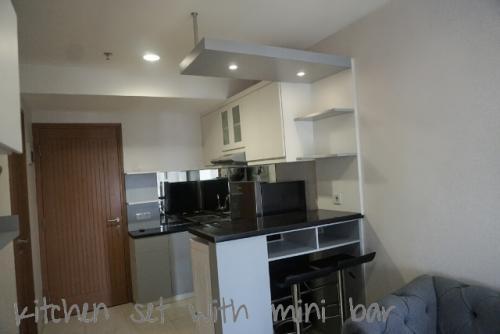 Cinere Bellevue Suites Apartment For Rent 1 Br 37 95 Sqm