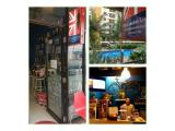 London Lounge depan kolam renang Tower C