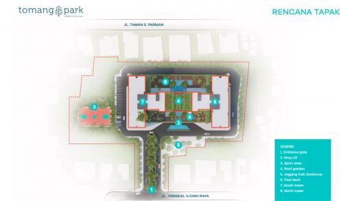 Sewa Apartemen Tomang Park Murah Harian Bulanan Tahunan