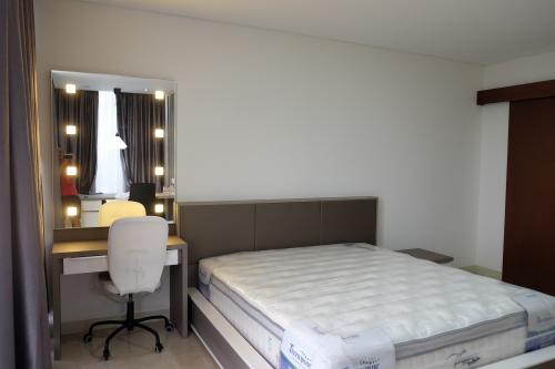 Apartemen l avenue disewakan 1 br 63 72 m2 fully furnished 43150 Master bedroom size m2