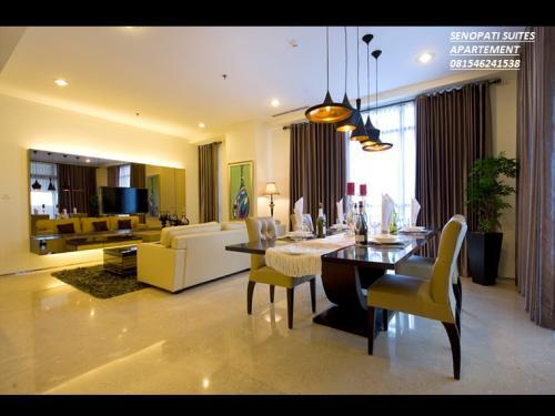 Disewakan Dijual Apartment Senopati Suites 2 3 3 1