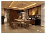 Jual / Sewa Apartemen Pakubuwono Residences - 2 BR & 3 BR Fully Furnished