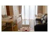 DISEWAKAN Apartemen Springhill kemayoran 1 br (73m2)SEMI Private Lift-View Golf