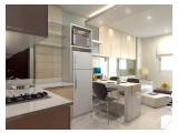 Sewa Murah banget Apartemen Bassura City – 2 BR 34 m2 FullyFurnished dan Unfurnished