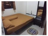 Sewa Harian / Mingguan / Bulanan / Tahunan Apartemen The Green Pramuka City - 2 BR 35 m2 Fully Furnished Murah