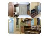 Sewa Apartemen Gading Nias Residence Type Studio, 1 BR, 2 BR Full Furnished, Harian, Bulanan, Tahunan