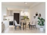 Disewakan Apartemen 1 Park Avenue – 2, 2+1, 3 BR Fully Furnished