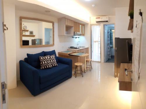 Apartemen disewakan apartemen bassura city 2br full furnished tower a