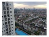 Di Sewakan Cosmo Mansion Thamrin City / 1 Bedroom/ View Pool