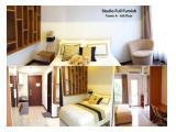 Apartemen Disewakan : Scientia Residence Tipe Studio Furnished - Lantai 6