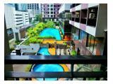 for rent studio (35m2) Taman Sari Semanggi Apartment with beautifull view and balcony