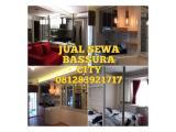 Disewakan apartemen bassura city, studio furnished baru harga fleksible