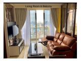 Dijual / Disewakan Apartemen Menteng Park – Tower Diamond – 2 BR (Hoek) Fully Furnished