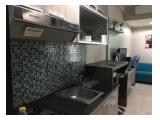 Disewakan Apartemen Tamansari Sudirman - Studio Full Furnished - Behind WTC, Lantai Rendah