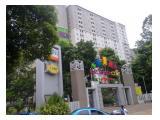 Sewa Harian / Mingguan / Transit Apartemen Kalibata City – Studio dan 2BR Free WiFi