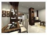 Jual & Sewa Apartemen Sahid Sudirman Residences - 1 / 2 / 3 BR Fully Furnished
