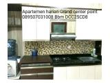 Disewakan Harian Apartemen Grand center point tower C dan D type 2BR Full furnished
