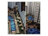 SEWA tower Alamanda Bassura City ada water heater 2 kamar Jakarta Timur
