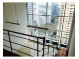 Available for rent Apartemen Cityloft Sudirman – 1 Bedroom, 2 Storey Semi Furnished / Fully Furnished