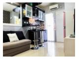 New Furnished 2BR With Sofa Bed Green Pramuka Apartment By Travelio