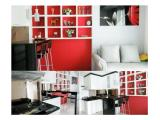 FOR RENT : Woodland Park Residence in South Jakarta  ( Type 2 BR, Size 54sqm, Fully Furnished )