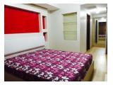 APARTEMEN DIJUAL: U Residence Tower 1 - 2BR Fully Furnished Lantai Kayu Parket, Golf View