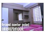 sewa harian/mingguan grand center point Tower C dan D Type 2bedroom Full furnish