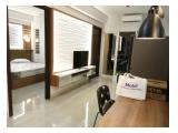 Jual / Sewa Apartemen The Aspen Admiralty Fatmawati – 2 BR + 2 Bathroom, 54m2 - Full Furnished