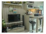 1 BR Homey Residence @ Green Pramuka Apartment By Travelio
