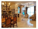 Dijual / Disewakan Apartemen Residences 8 Senopati – 1, 2, 3 BR Fully Furnished