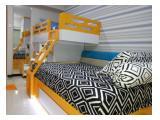 Educity Studio dengan Twin Bed yang Lux