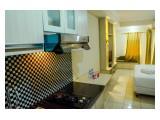 Minimalist Studio Room at Grand Serpong Apartment By Travelio