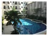 Disewakan apartemen Signature Park Grande 1Br view kolam renang interior bagus bisa bayar bulanan