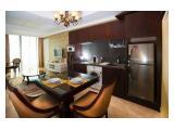 Disewakan / Dijual Apartemen Residence 8 Senopati – Banyak pilihan unit : 4 / 3 / 2 / 1 Bedroom with The Best Price Guarantee