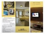 Sewa Apartemen Gallery Ciumbuleuit 2 - Full Furnished - Siap Huni