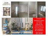 Apartemen Basura City type 2 kamar unfurnish dengan 2 AC