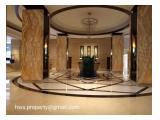 Disewakan / Dijual Apartemen Capital Residences – 2 BR, 3 BR Furnished / Unfurnished
