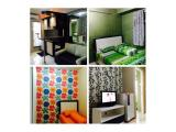 SEWA APARTEMEN: Kalibata City - Green Palace (2 BR, Furnished)