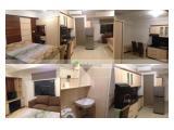 Apartement ukuran 37 mtr ( 2 kamar jadi 1 ) furnish cantik