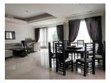 Disewakan Apartemen SCBD Suite – 2 +1 Bedrooms Fully Furnished + Big Balcony