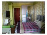 Disewakan Apartment Educity Pakuwon Surabaya – Studio Harian, Mingguan Free Wifi, Pool dan Gym
