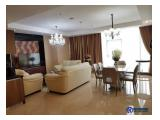 Sewa Apartemen L'Avenue 3 BR 162 sqm (280 million per year include Tax) Excellent Luxurious Interior Furnished 6th Floor