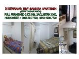 For Rent Bassura City Apartment - 2BR Fully Furnished minimal sewa 6 bulan