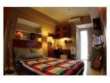 Disewakan Apartemen Margonda Residence 2 Blok HH/Lt2, Hadap Timur, dekat UI